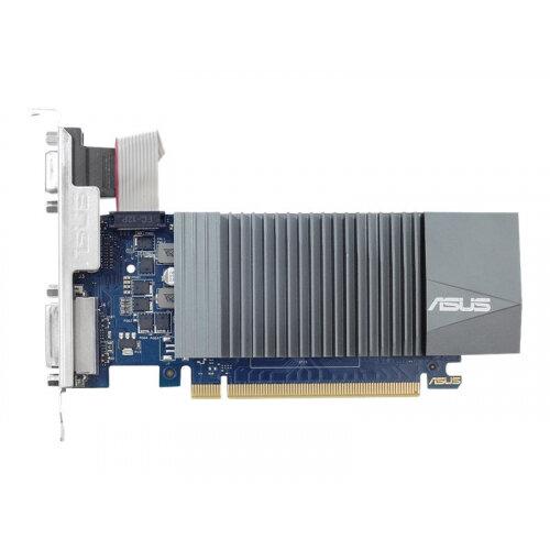 ASUS GT710-SL-1GD5 - Graphics card - GF GT 710 - 1 GB GDDR5 - PCIe 2.0 - DVI, D-Sub, HDMI - fanless