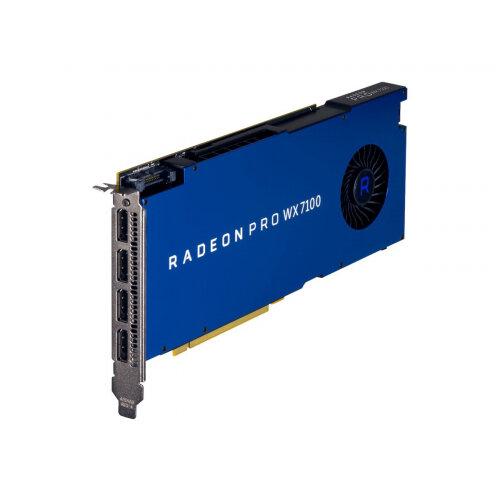 AMD Radeon Pro WX 7100 - Graphics card - Radeon Pro WX 7100 - 8 GB GDDR5 - PCIe 3.0 x16 - 4 x DisplayPort - for Workstation Z240, Z440, Z640, Z8 G4, Z840