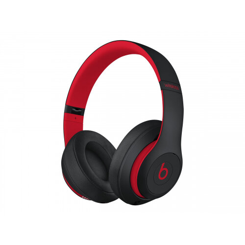 Beats Studio3 - The Beats Decade Collection - headphones with mic - full size - Bluetooth - wireless - active noise cancelling - noise isolating - red, defiant black - for Apple iPad/iPhone/iPod (Lightning)