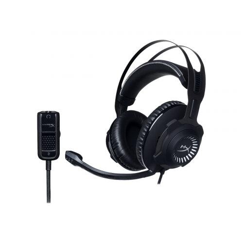 HyperX Cloud Revolver - Headset - full size - wired - 3.5 mm jack - gun metal