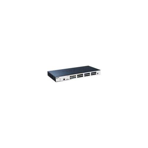 D-Link xStack DGS-3120-24SC - Switch - Managed - 16 x SFP + 8 x combo SFP - desktop