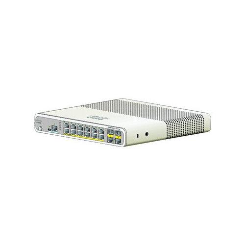 Cisco Catalyst Compact 2960C-12PC-L - Switch - Managed - 12 x 10/100 (PoE) + 2 x shared Gigabit SFP - desktop, rack-mountable, wall-mountable - PoE