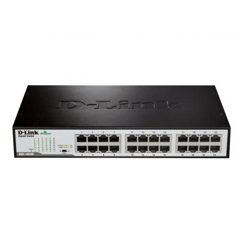 D-Link DGS 1024D - Switch - unmanaged - 24 x 10/100/1000 - desktop
