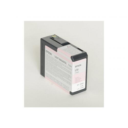 Epson T5806 - 80 ml - light magenta - original - ink cartridge - for Stylus Pro 3800, Pro 3880