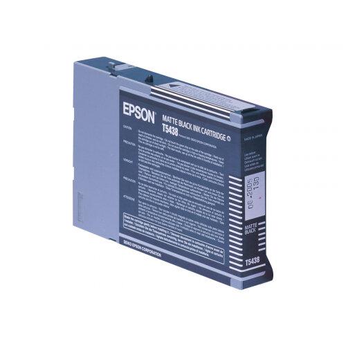 Epson T5438 - 110 ml - matte black - original - ink cartridge - for Stylus Pro 4000, Pro 4000 C4, Pro 4000 C8, Pro 4400, Pro 4800, Pro 7600, Pro 9600