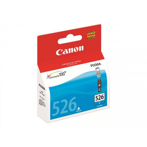 Canon CLI-526C - Cyan - original - ink tank - for PIXMA iP4950, iX6550, MG5250, MG5350, MG6150, MG6250, MG8150, MG8250, MX715, MX885, MX895
