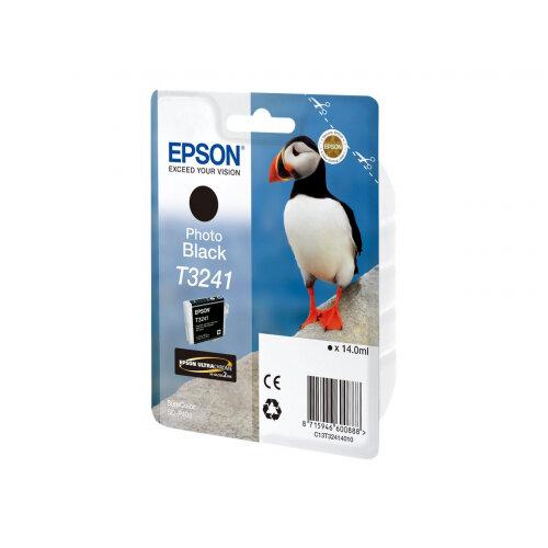 Epson T3241 - 14 ml - black - original - ink cartridge - for SureColor P400, SC-P400