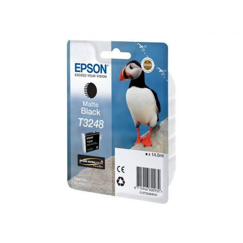 Epson T3248 - 14 ml - matte black - original - ink cartridge - for SureColor P400, SC-P400
