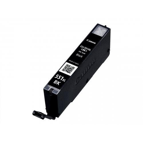 Canon CLI-551BK XL - High Yield - black - original - ink tank - for PIXMA iP8750, iX6850, MG5550, MG5650, MG5655, MG6450, MG6650, MG7150, MG7550, MX725, MX925