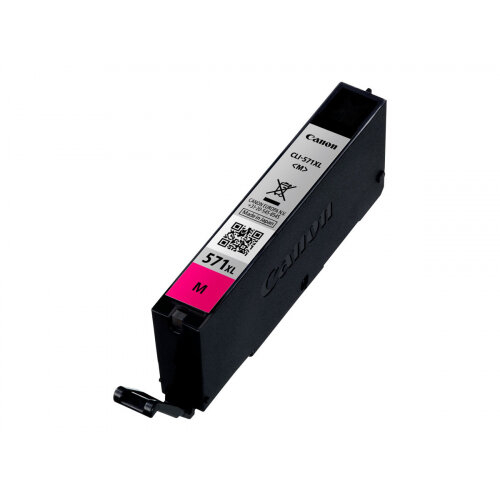 Canon CLI-571M XL - 11 ml - High Yield - magenta - original - ink tank - for PIXMA TS5051, TS5053, TS5055, TS6050, TS6051, TS6052, TS8051, TS8052, TS9050, TS9055