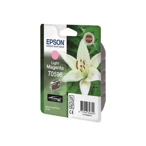 Epson T0596 - 13 ml - light magenta - original - blister - ink cartridge - for Stylus Photo R2400