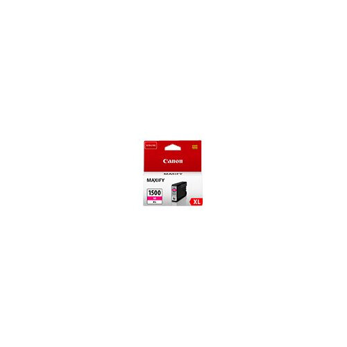 Canon PGI-1500XL M - 12 ml - High Yield - magenta - original - ink tank - for MAXIFY MB2050, MB2150, MB2155, MB2350, MB2750, MB2755