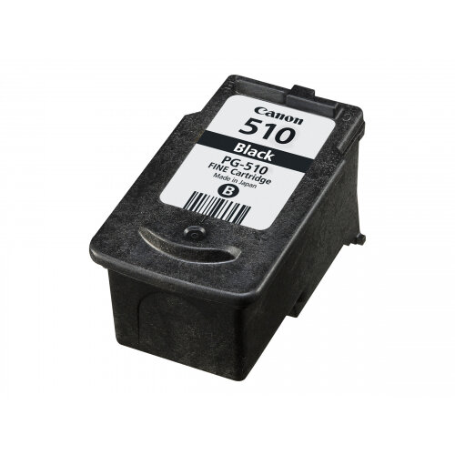 Canon PG-510 - Black - original - blister - ink tank - for PIXMA MP230, MP237, MP252, MP258, MP270, MP280, MP282, MP499, MX350, MX360, MX410, MX420