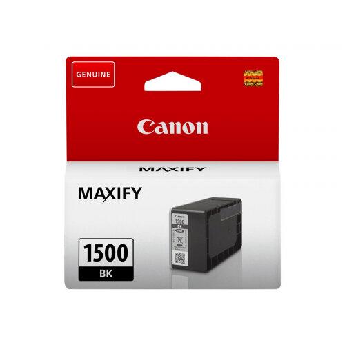 Canon PGI-1500 BK - 12.4 ml - black - original - ink tank - for MAXIFY MB2050, MB2150, MB2350, MB2750, MB2755