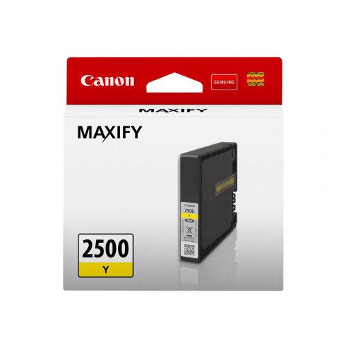 Canon PGI-2500 Y - 9.6 ml - yellow - original - ink tank - for MAXIFY iB4050, iB4150, MB5050, MB5150, MB5155, MB5350, MB5450, MB5455