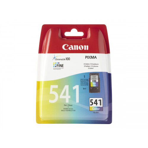 Canon CL-541 - Colour (cyan, magenta, yellow) - original - ink cartridge - for PIXMA MG3150, MG3510, MG3550, MG3650, MG4250, MX395, MX475, MX525, MX535, TS5150, TS5151