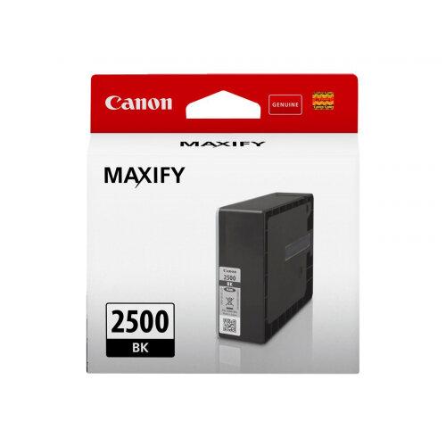 Canon PGI-2500 BK - 29.1 ml - black - original - ink tank - for MAXIFY iB4050, iB4150, MB5050, MB5150, MB5155, MB5350, MB5450, MB5455