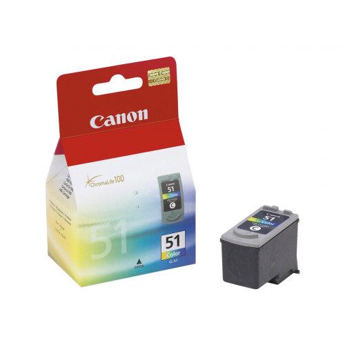 Canon CL-51 - Colour (cyan, magenta, yellow) - original - ink tank - for PIXMA iP6210, iP6220, iP6310, MP150, MP160, MP170, MP180, MP450, MP460, MX300, MX310
