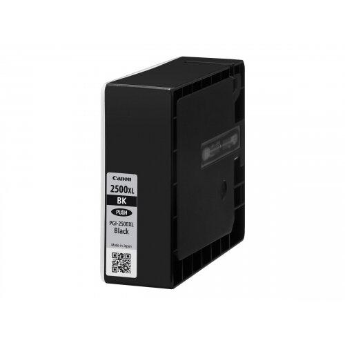 Canon PGI-2500XL BK - 70.9 ml - High Yield - black - original - blister with security - ink tank - for MAXIFY iB4050, iB4150, MB5050, MB5150, MB5155, MB5350, MB5450, MB5455
