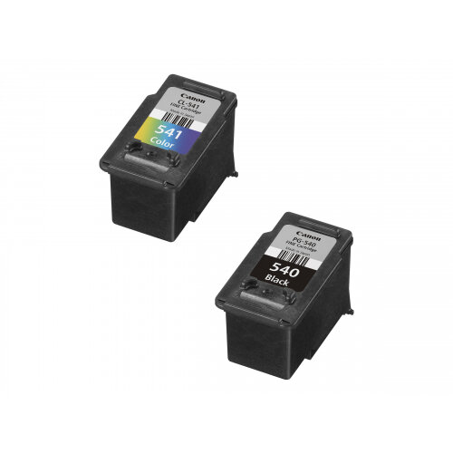 Canon PG-540 / CL-541 Multipack - 2-pack - black, colour (cyan, magenta, yellow) - original - ink cartridge - for PIXMA MG3150, MG3510, MG3550, MG3650, MG4250, MX395, MX475, MX525, MX535, TS5150, TS5151