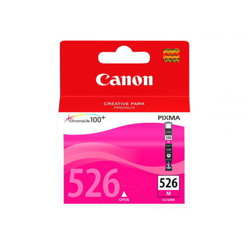 Canon CLI-526M - Magenta - original - ink tank - for PIXMA iP4950, iX6550, MG5250, MG5350, MG6150, MG6250, MG8150, MG8250, MX715, MX885, MX895