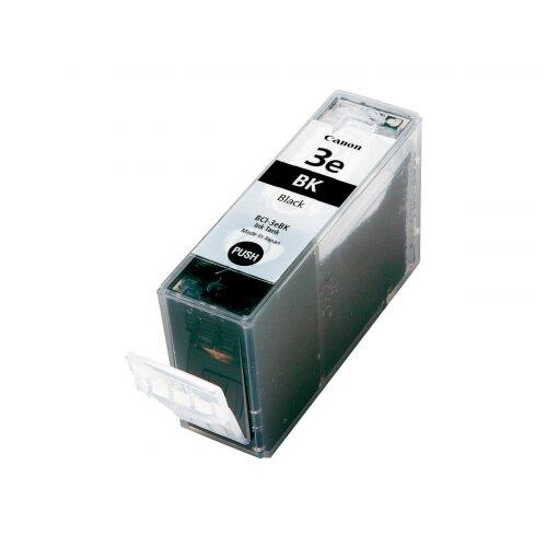 Canon BCI-3eBK - Black - original - ink tank - for i450; MultiPASS C755; PIXMA IP3000, IP4000, iP5000, MP750, MP760, MP780; S400, 450, 530