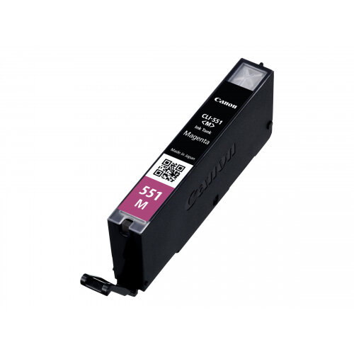 Canon CLI-551M - Magenta - original - ink tank - for PIXMA iP8750, iX6850, MG5550, MG5650, MG5655, MG6450, MG6650, MG7150, MG7550, MX725, MX925