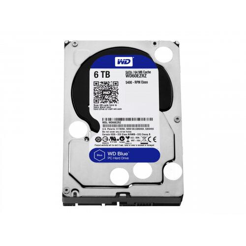 """WD Blue - Hard drive - 6 TB - internal - 3.5"""" - SATA 6Gb/s - 5400 rpm - buffer: 64 MB"""