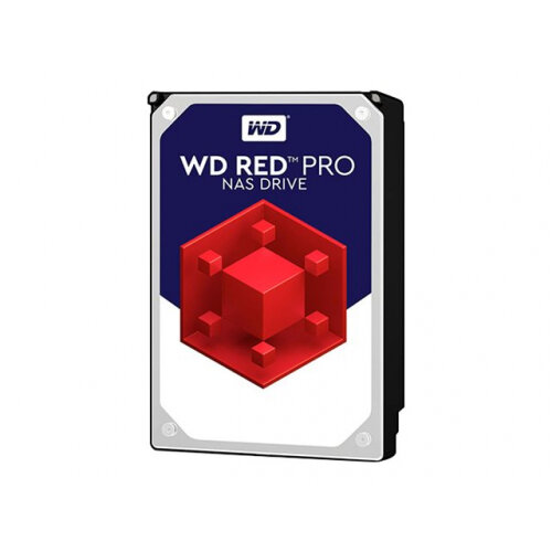 "WD Red Pro NAS Hard Drive WD101KFBX - Hard drive - 10 TB - internal - 3.5"" - SATA 6Gb/s - 7200 rpm - buffer: 256 MB"