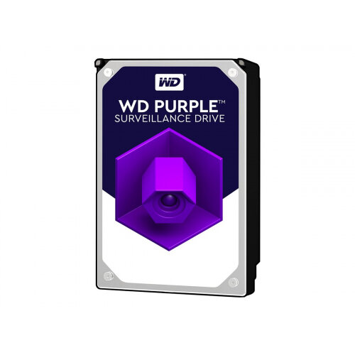 "WD Purple Surveillance Hard Drive WD10PURZ - Hard drive - 1 TB - internal - 3.5"" - SATA 6Gb/s - 5400 rpm - buffer: 64 MB"