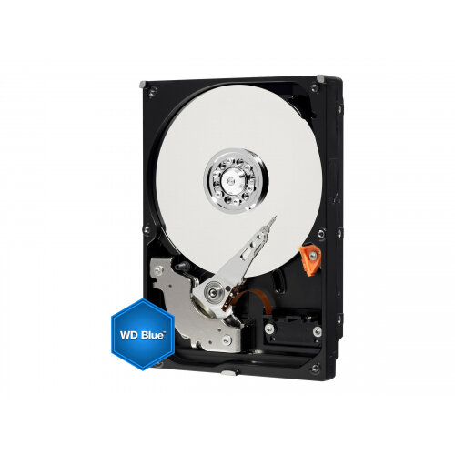 """WD Blue WD40EZRZ - Hard drive - 4 TB - internal - 3.5"""" - SATA 6Gb/s - 5400 rpm - buffer: 64 MB"""