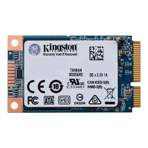 Kingston SSDNow UV500 - Solid state drive - encrypted - 480 GB - internal - mSATA - SATA 6Gb/s - 256-bit AES - Self-Encrypting Drive (SED), TCG Opal Encryption 2.0