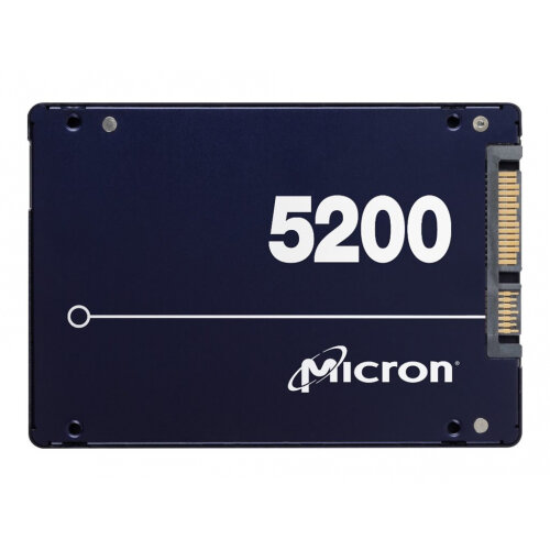 "Micron 5200 series MAX - Solid state drive - 480 GB - internal - 2.5"" - SATA 6Gb/s"
