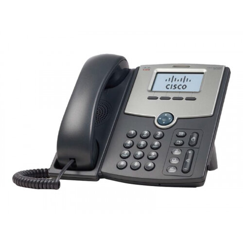 Cisco Small Business SPA 502G - VoIP phone - SIP, SIP v2, SPCP - single-line - silver, dark grey - for Small Business Pro Unified Communications 320 with 4 FXO