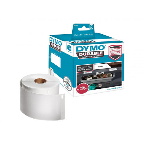 DYMO LabelWriter Address - Adhesive - white - 59 x 102 mm 50 label(s) (1 roll(s) x 50) labels