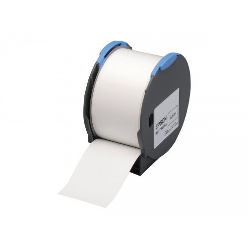 Epson RC-T5WNA - Polyolefin - self-adhesive - white - Roll (5 cm x 15 m) 1 roll(s) plastic tape - for LabelWorks Pro100