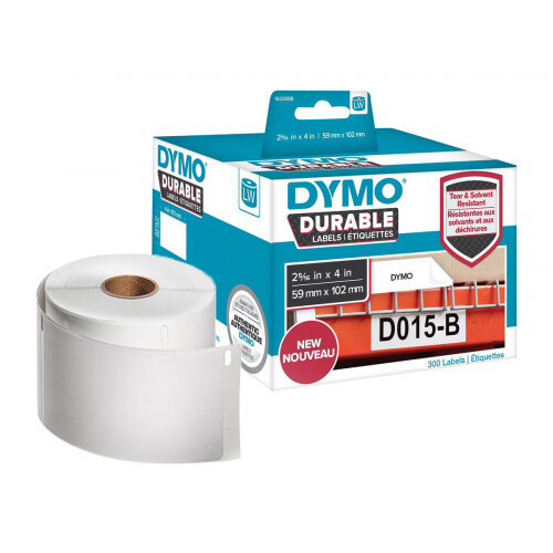 DYMO LabelWriter Address - Adhesive - white - 59 x 102 mm 300 label(s) (1 roll(s) x 300) labels