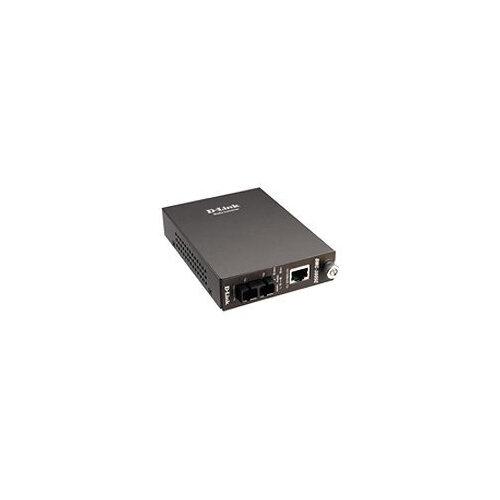 D-Link DMC 300SC - Fibre media converter - 100Mb LAN - 10Base-T, 100Base-FX, 100Base-TX - RJ-45 / SC multi-mode - up to 2 km