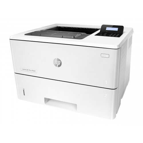 HP LaserJet Pro M501dn - Printer - monochrome - Duplex - laser - A4/Legal - 4800 x 600 dpi - up to 45 ppm - capacity: 650 sheets - USB 2.0, Gigabit LAN, USB 2.0 host
