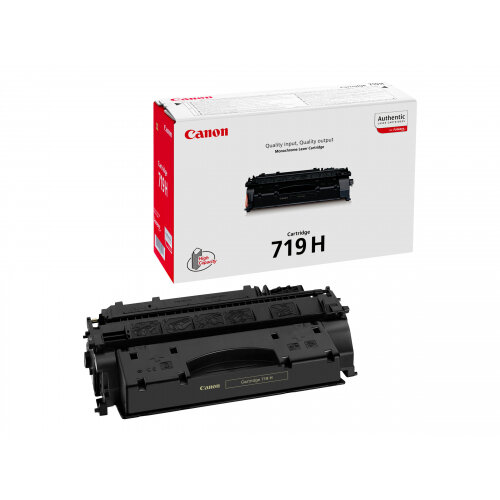 Canon 719 H - Black - original - toner cartridge - for i-SENSYS LBP251, LBP252, LBP253, LBP6310, MF411, MF416, MF418, MF419, MF6140, MF6180