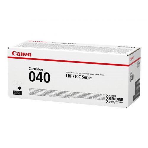 Canon 040 - Black - original - toner cartridge - for imageCLASS LBP712Cdn; i-SENSYS LBP710Cx, LBP712Cx; Satera LBP712Ci