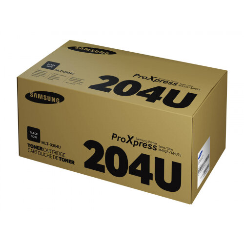 Samsung MLT-D204U - Ultra High Yield - black - original - toner cartridge (SU945A) - for ProXpress SL-M3325, SL-M3375, SL-M3825, SL-M3875, SL-M4025, SL-M4072, SL-M4075