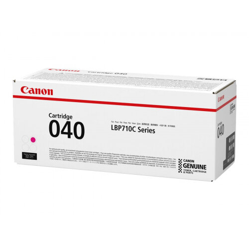 Canon 040 - Magenta - original - toner cartridge - for imageCLASS LBP712Cdn; i-SENSYS LBP710Cx, LBP712Cx; Satera LBP712Ci