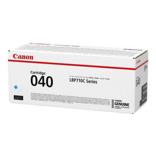 Canon 040 - Cyan - original - toner cartridge - for imageCLASS LBP712Cdn; i-SENSYS LBP710Cx, LBP712Cx; Satera LBP712Ci