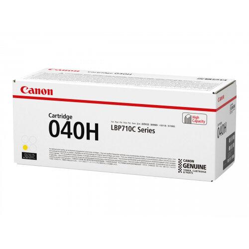 Canon 040 H - Yellow - original - toner cartridge - for imageCLASS LBP712Cdn; i-SENSYS LBP710Cx, LBP712Cx; Satera LBP712Ci