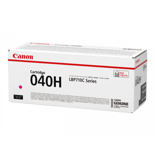 Canon 040 H - Magenta - original - toner cartridge - for imageCLASS LBP712Cdn; i-SENSYS LBP710Cx, LBP712Cx; Satera LBP712Ci