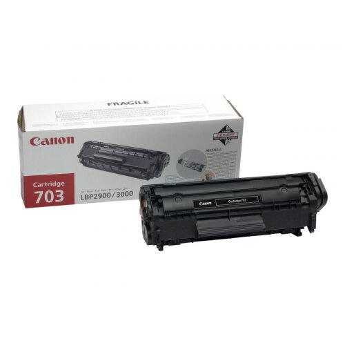 Canon 703 - Black - original - toner cartridge - for i-SENSYS LBP2900, LBP2900B, LBP3000; Laser Shot LBP-2900, 3000