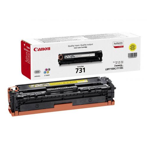 Canon 731 Y - Yellow - original - toner cartridge - for i-SENSYS LBP7100Cn, LBP7110Cw, MF623Cn, MF628Cw, MF8230Cn, MF8280Cw