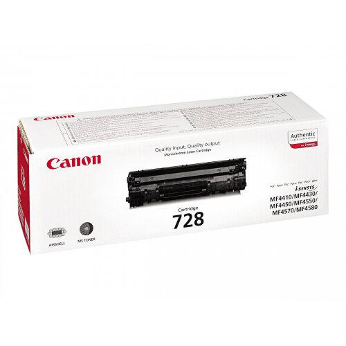 Canon CRG-728 - Black - original - toner cartridge - for ImageCLASS MF4750; i-SENSYS FAX-L150, L170, L410, MF4550, MF4730, MF4750, MF4870, MF4890