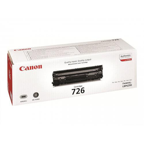 Canon CRG-726 - Black - original - toner cartridge - for i-SENSYS LBP6200d, LBP6230dw